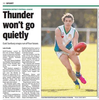 Thunder won't go quietly