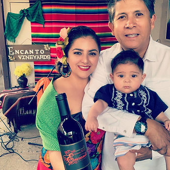 Encanto Vineyards is a small boutique winery owned and operated by first generation Mexican-American vintner Enrique Lopez and his wife Ligia Coria.