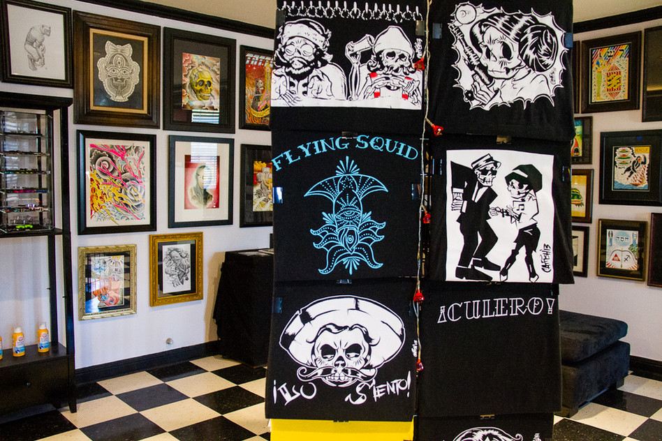 The Flying Squid gallery