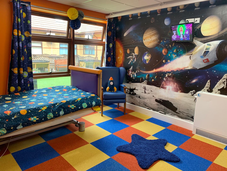 Rose Road Space Room