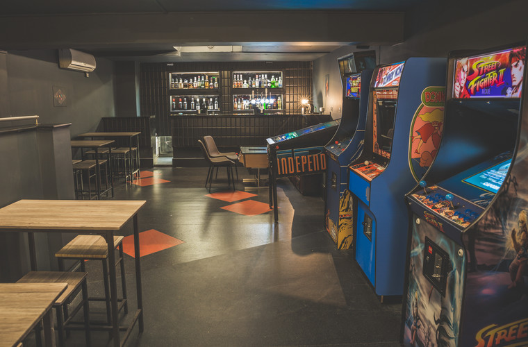 Bar and Arcade