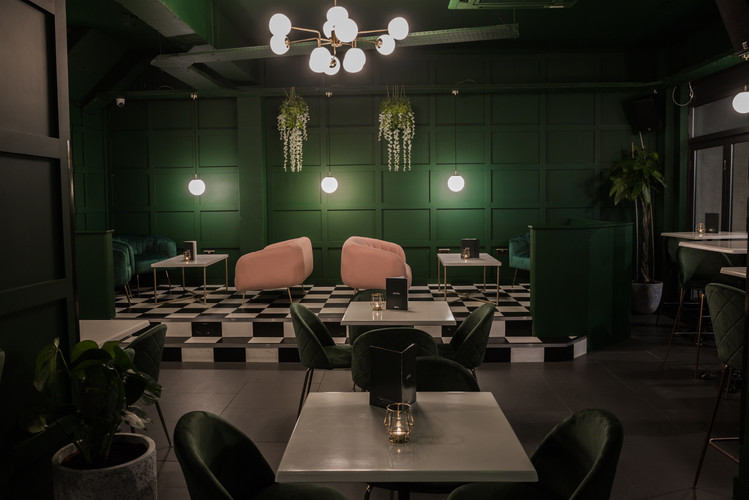 Cocktail Bar seating