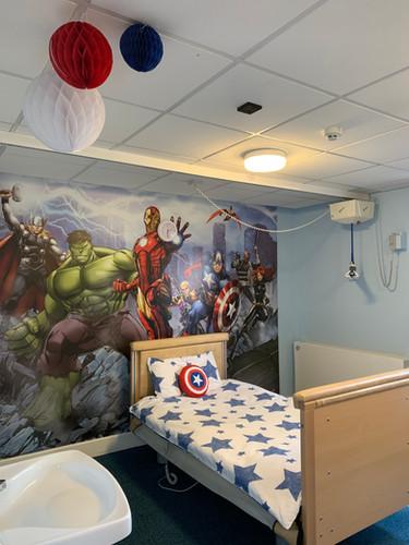 Rose Road Avengers Room