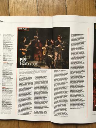Jazz Magazine novembre 2017