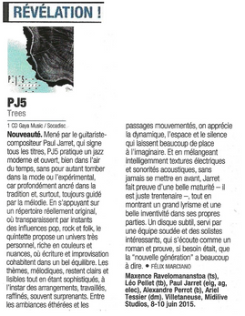 Jazz Magazine mars 2016