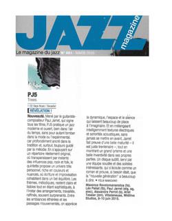 TREES Jazz Magazine montage