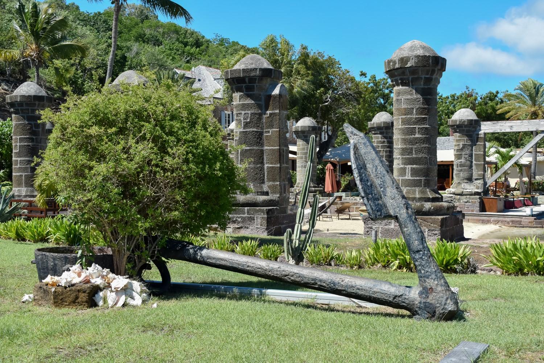 Pillars at the Admiral's Inn