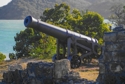 Canon at Fort James