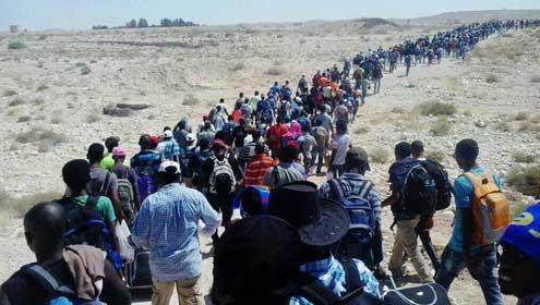 Op de vlucht uit Eritrea voor ongekende wreedheden