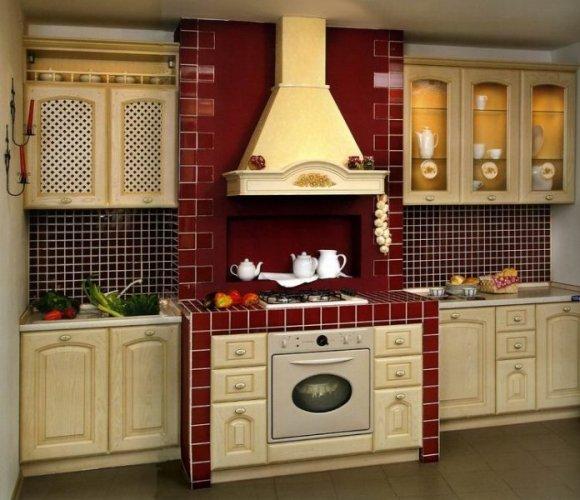 Кухня Сандра, цвет слоновая кость