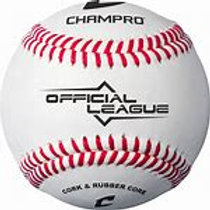 "CHAMPRO BATTING PRACTICE ""NON-GAME"" BALL"