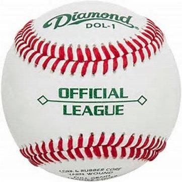"DIAMOND DOL-1 ""OFFICIAL LEAGUE"" BASEBALL"
