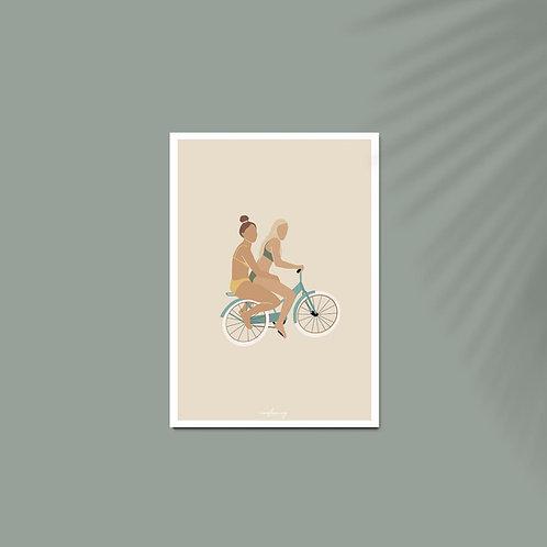 Affiche / Poster A4 - Best friends