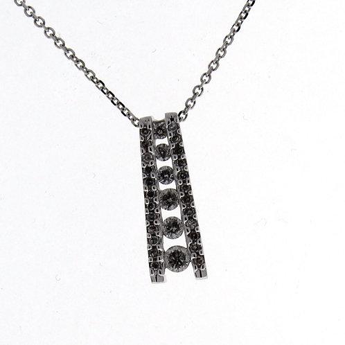 Diamond Journey Necklace