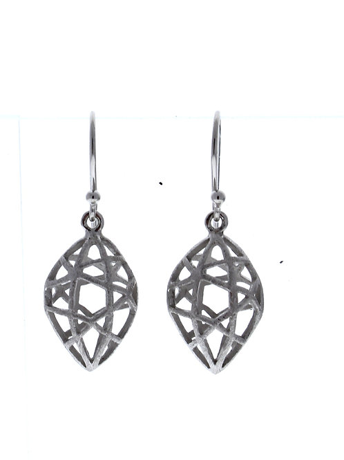 Marquise Caged Dangle Earrings