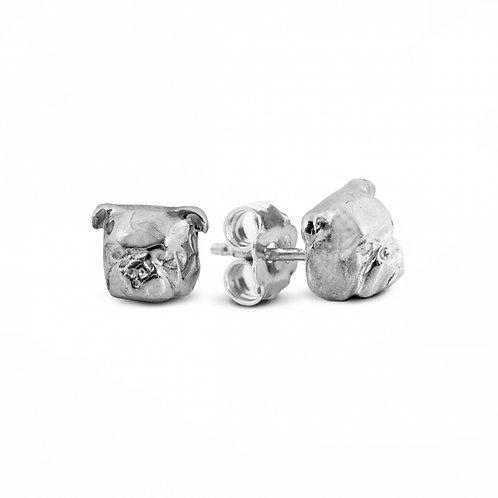 Dog Fever English Bulldog Stud Earrings