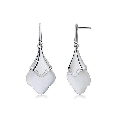 Charles Krypell Mother of Pearl Earrings
