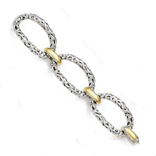 Charles Krypell Ivy Large Link Bracelet