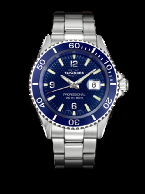 Tavannes Ocean Edge Blue Carbon