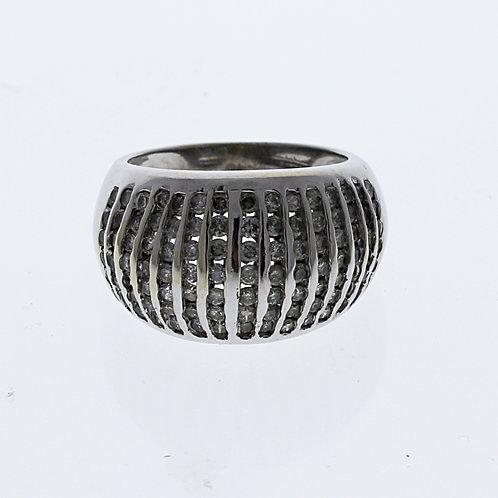 Diamond Dome Ring