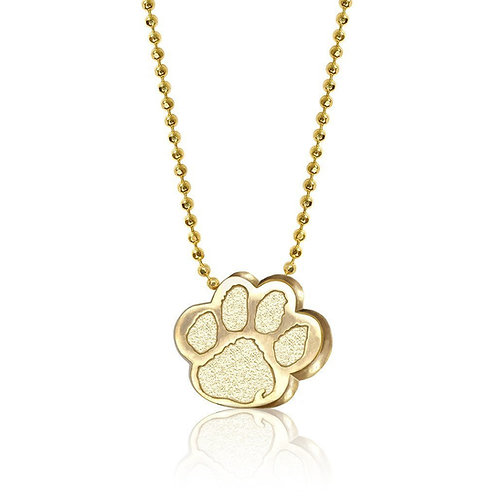 Alex Woo Clemson University Paw Necklace