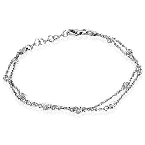 Simon G Diamond Station Bracelet