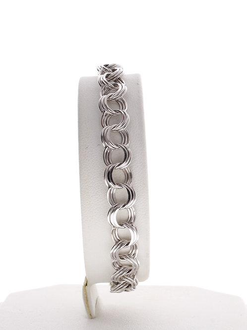 Triple Circle Link Bracelet