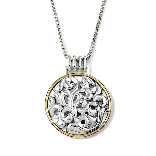 Charles Krypell Ivy Circle Necklace