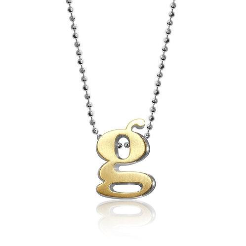 Alex Woo Fusion Little Letter G Necklace