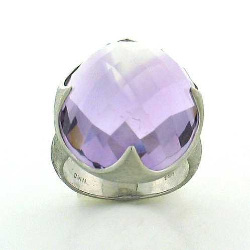 Dome Amethyst Ring