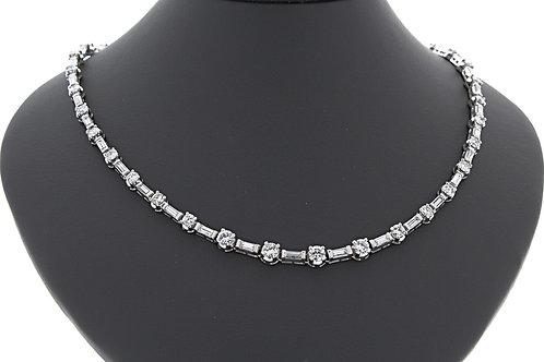 Straightline Diamond Necklace