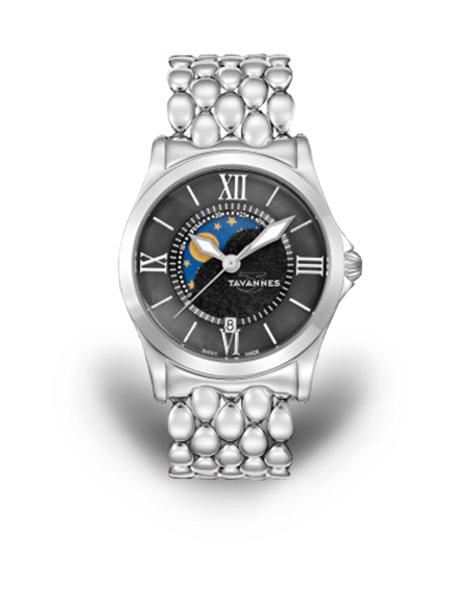 Tavannes Ladies Eclipse Round
