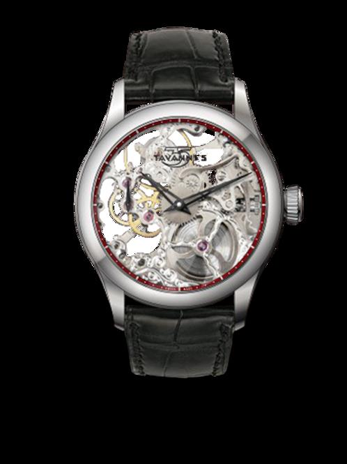 Tavannes Skeleton Manual Watch