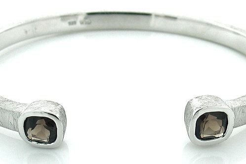 Smoky Quartz Small Cuff Bracelet