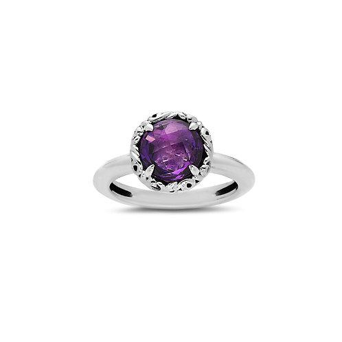 Charles Krypell Ivy Amethyst Ring