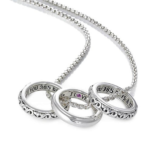 Charles Krypell I Love You 365 Necklace