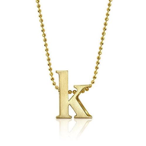 Alex Woo Little Letter K Necklace