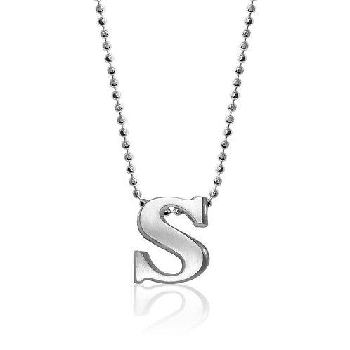 Alex Woo Little Letter S Necklace