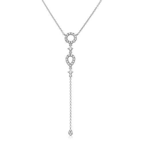 """Diamond """"Y"""" Necklace"""