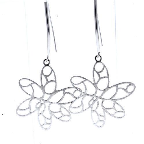 Flower Dangle Earrings