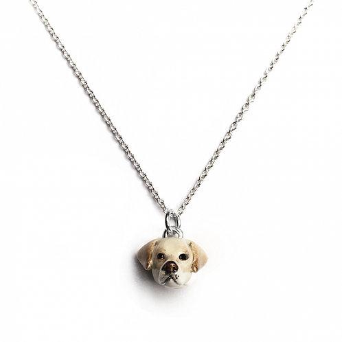 Dog Fever Enamel Labrador Retriever Necklace