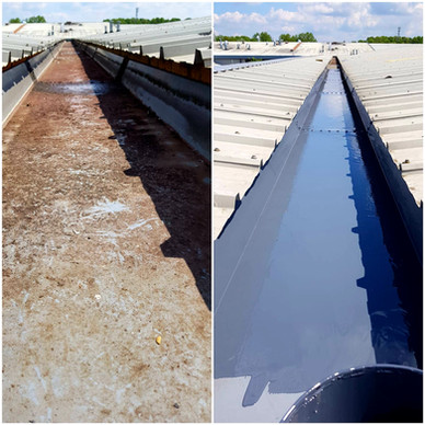 Commercial Box Gutter Re-lining