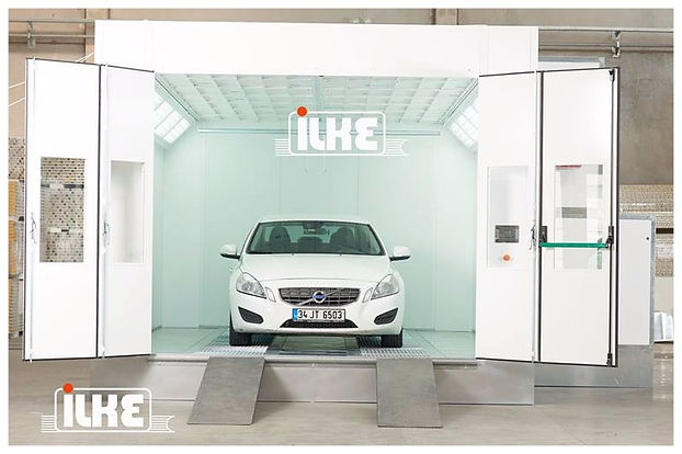 FIRAT FBK 6000 SPRAY BOOTH WHITE car spraying painting drying oven automotive