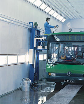 FIRAT BUS LARGE INDUSTRIAL SPRAY BOOTH PAINTING SPRAYING DRYING OVEN COMMERCIAL
