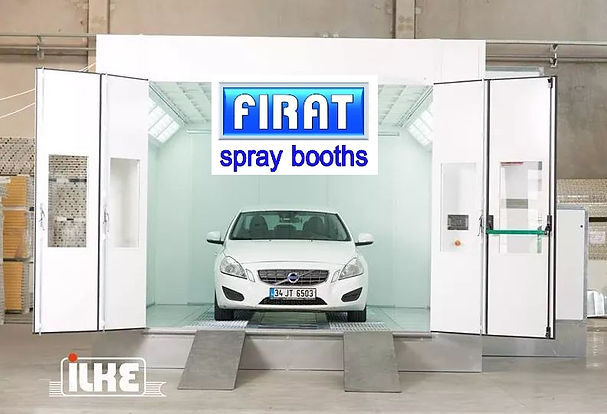 Firat FBK spray booth painting spraying drying oven car automotive