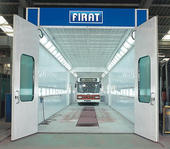 Firat Bus spray booth Large Industrial Spraying Painting Drying Oven