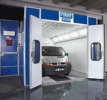 FIRAT SPRAY BOOTH OVEN VAN MINIBUS LARGER CAR painting spraying drying automotive