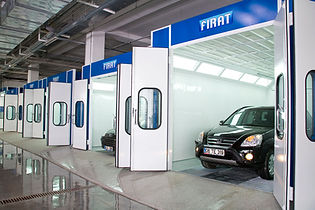 FIRAT VAN MINIBUS SPRAY BOOTH painting spraying drying curing oven automotive