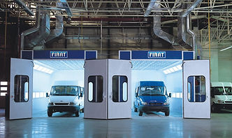 FIRAT SPRAY BOOTH AUTOMOTIVE VAN COMMERCIAL OVEN spraying painting drying oven