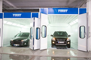 FIRAT SPRAY BOOTH LARGER CAR VAN MINIBUS spray booth spraying painting drying oven automotive